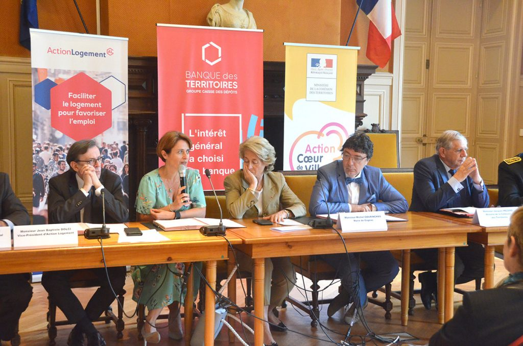 Signature de la convention Action coeur de ville de Cognac